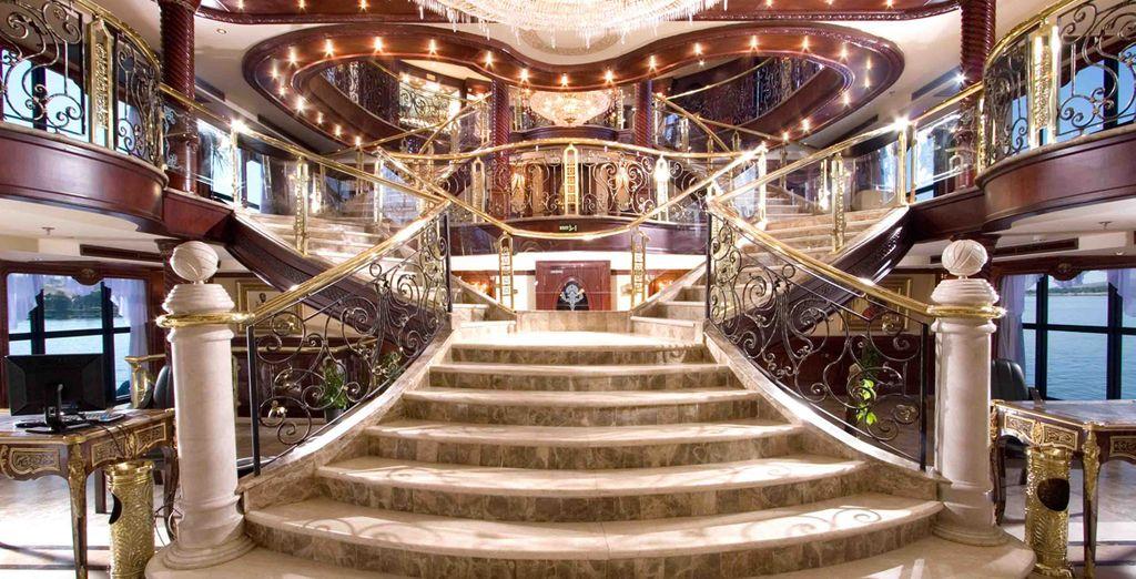 Mil y una opciones de entretenimiento y restauración en un ambiente de lujo