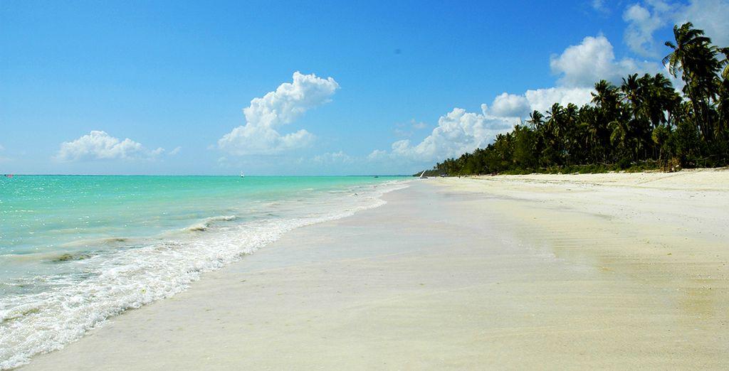 Infinitas playas de arena blanca y agua azul