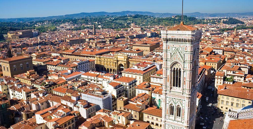 A unos pocos kilómetros de Florencia...