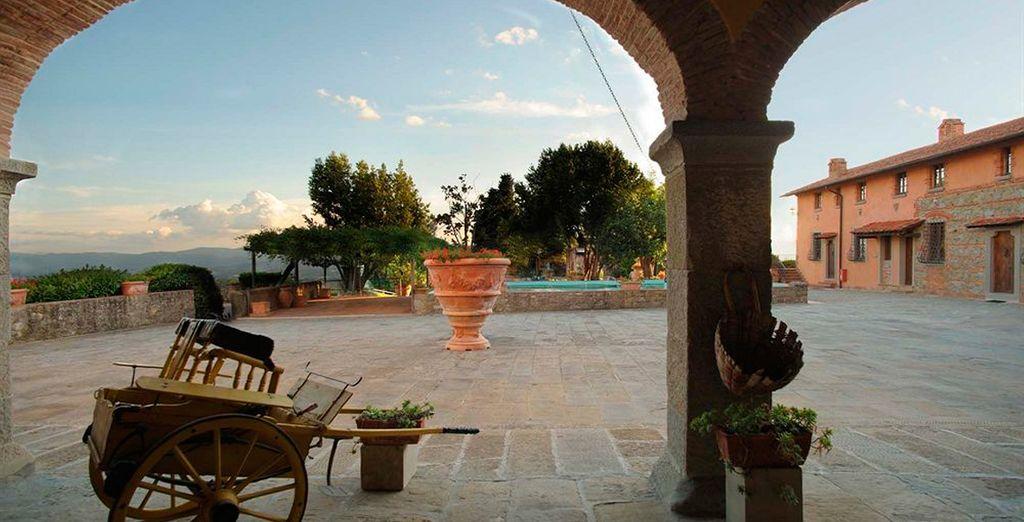 Fattoria Degli Usignoli le da la bienvenida a la Toscana