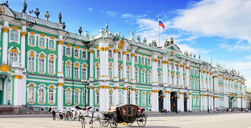 Conozca el impresionante Museo Hermitage