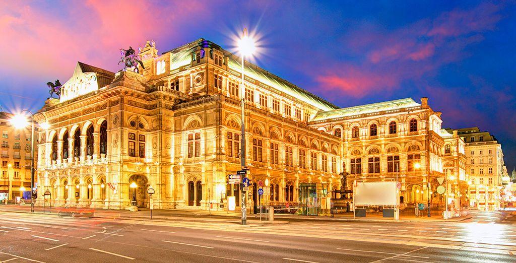 Y La Ópera de Viena, un monumento a la música