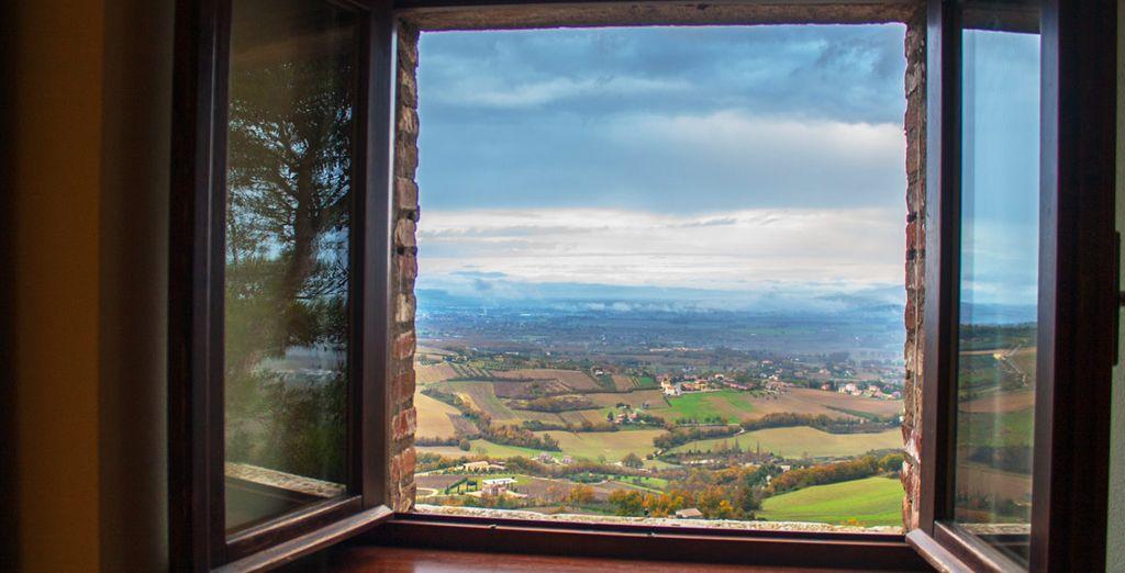 Disfrute de vistas espectaculares desde cualquier punto