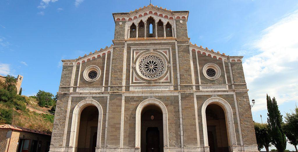 La fachada de Santa Margherita