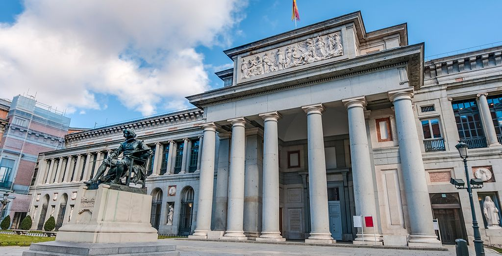 El Museo del Prado, en el que podrá disfrutar de una inigualable colección de pintura española, italiana y flamenca