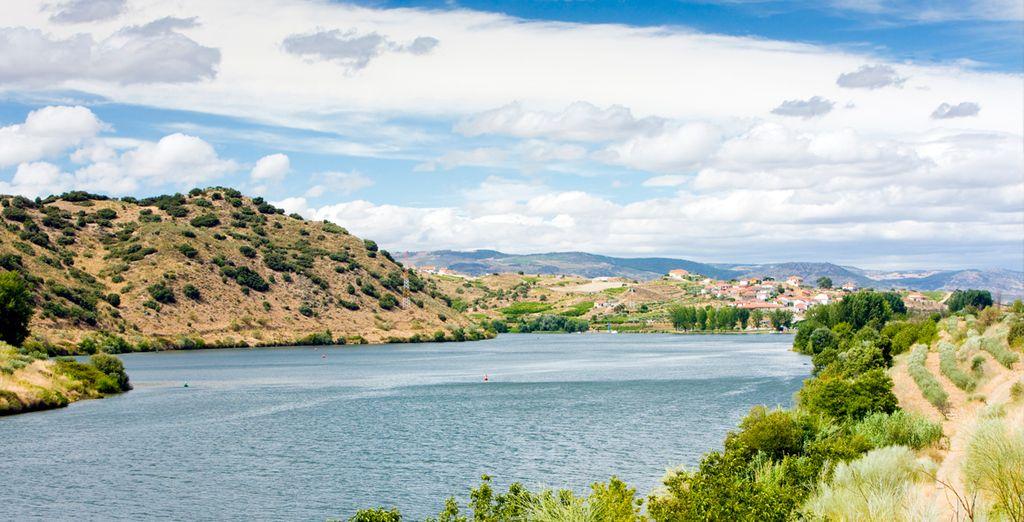 Un paisaje impresionante bañado por las aguas del río Duero