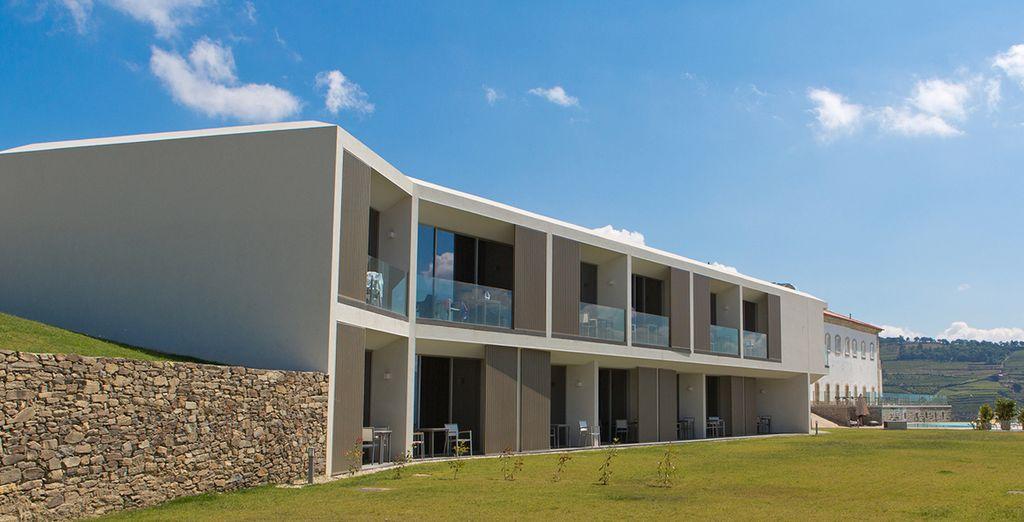 Agua Hotels Douro Scala 5*: mezcla de modernidad y tradición