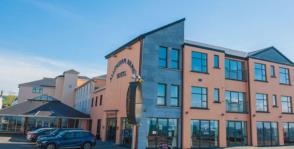 En el área de Sligo/Donegal se alojará en el hotel Allingham Arms Hotel 3*