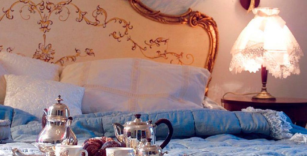 ¿Qué es mejor que un desayuno en su habitación?