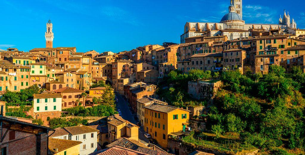 Gambassi Terme se extiende hasta las fronteras de la provincia de Siena