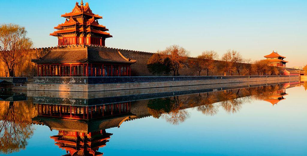 Su viaje comenzará en la tradicional ciudad de Beijing