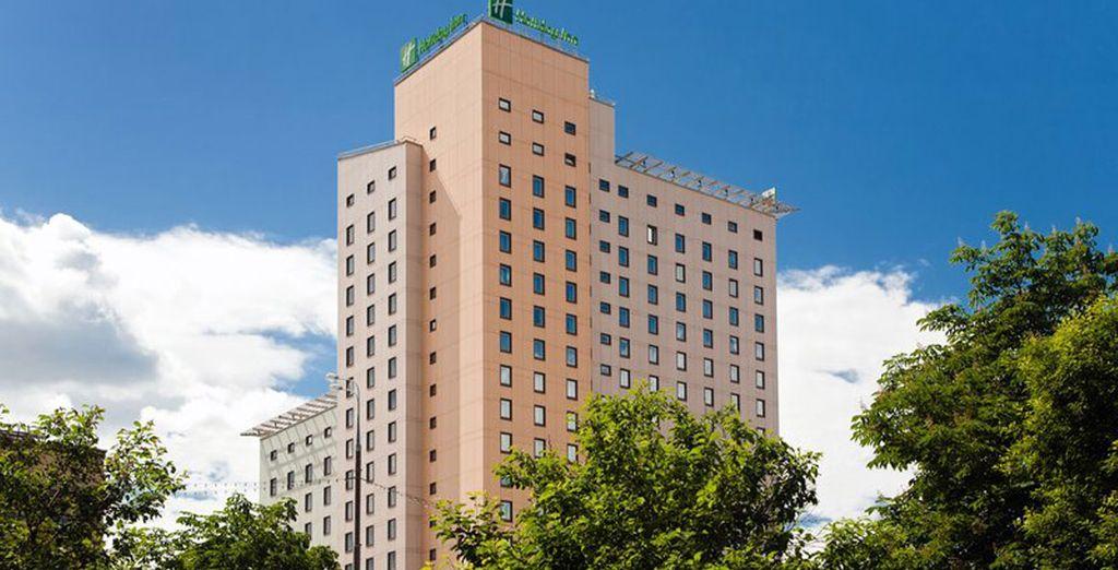 Su opción para una estancia 4* será en el hotel Holiday Inn Suschevsky 4* de Moscú