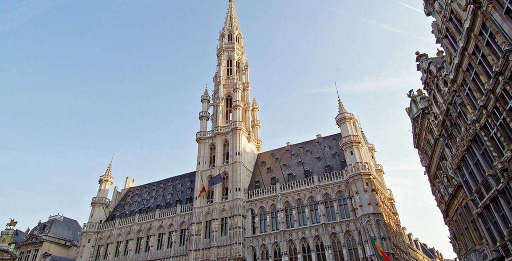 La Grand Place, el centro de la ciudad