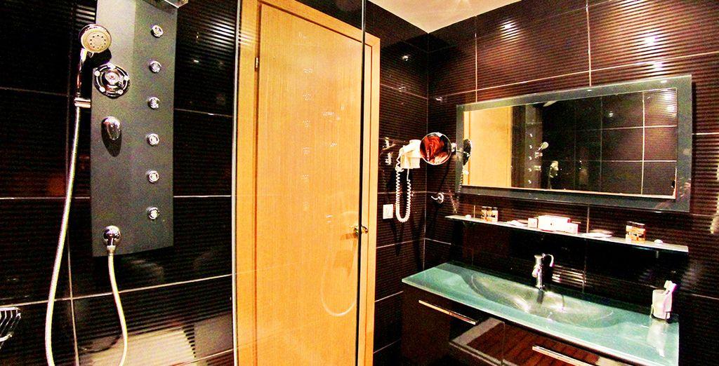 Todos los baños están completamente equipados para su estancia