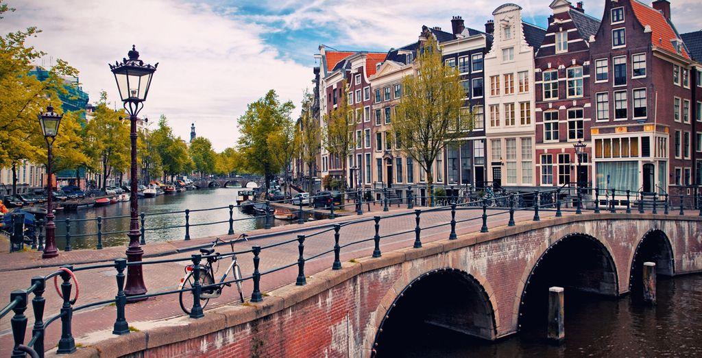 Ámsterdam, una de las ciudades más románticas y hermosas de Europa