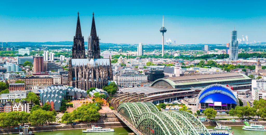 Colonia, la ciudad más antigua de Alemania, alberga tesoros culturales e históricos