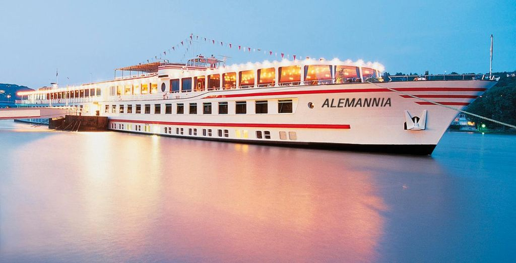 Navegará a bordo del crucero MS Alemannia 3*