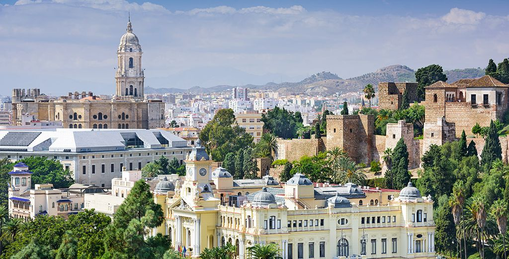 Disfruta de la ciudad de Málaga