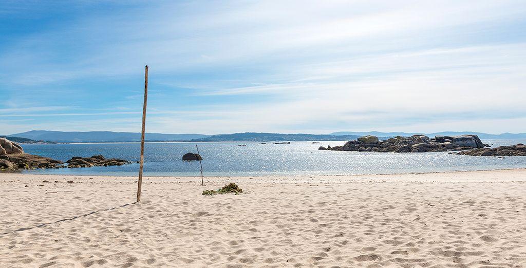 Descubre la playa de San Vicente do Mar y muchas más en las Rias Baixas