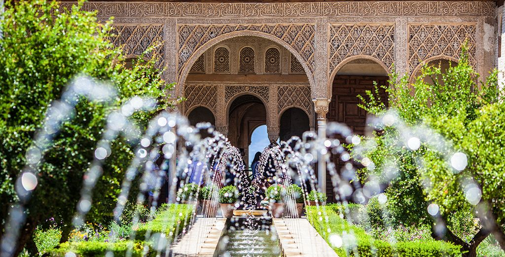 La Alhambra te cautivará