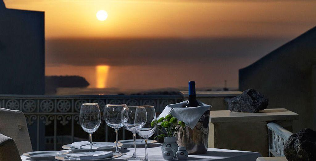 Un lugar donde disfrutar de una cena romántica al aire libre