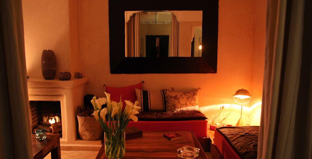 Y espacios confortables óptimos para tu descanso