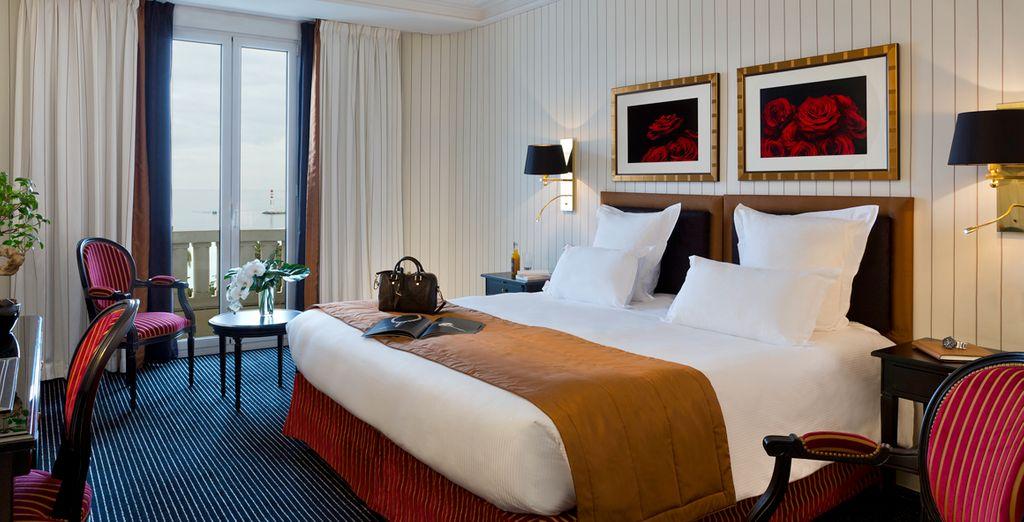 Descansa en una habitación Deluxe con vistas al mar