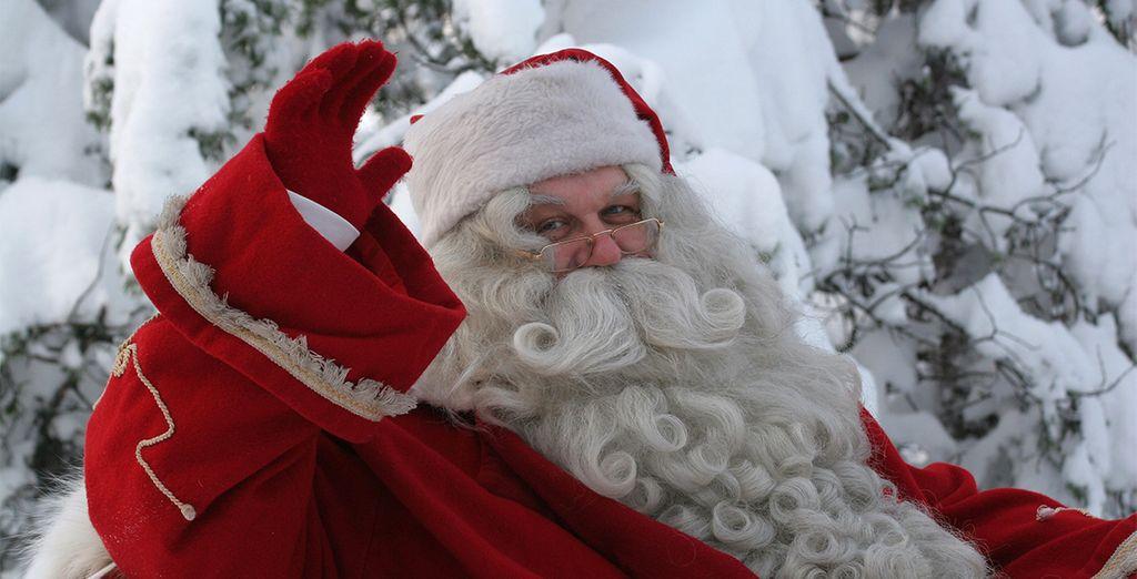 Conoce a Papá Noel