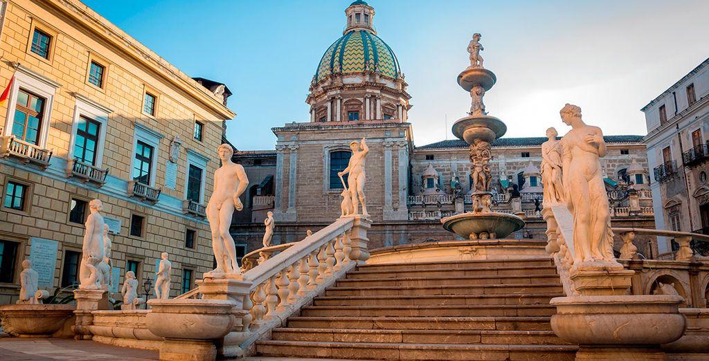 Palermo será la primera parada de tu itinerario