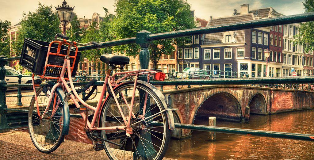 Ámsterdam te recibe con los brazos abiertos