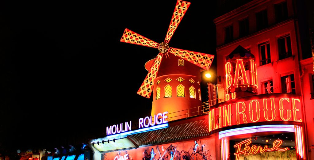 A un paso del Moulin Rouge