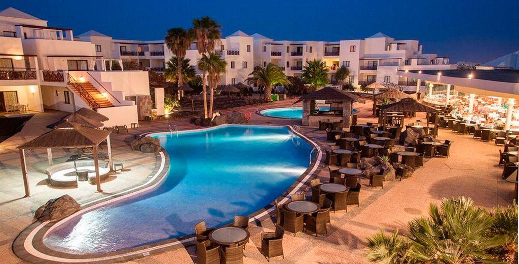 Vitalclass Lanzarote Spa & Wellness Resort te da la bienvenida a la isla