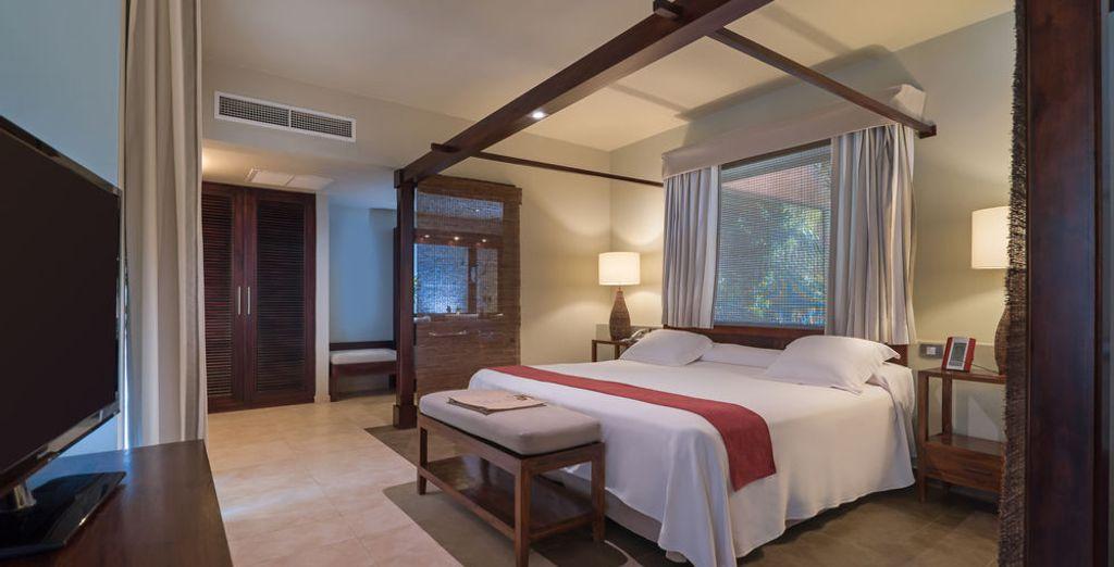 O en una Luxury Oceanfront Junior Suite