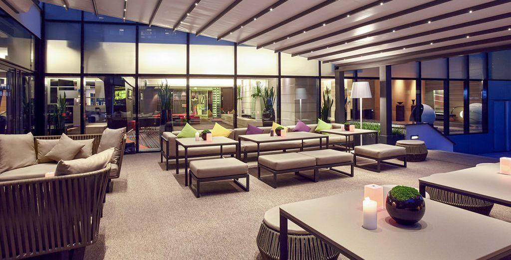 Amplios espacios de diseño y confort