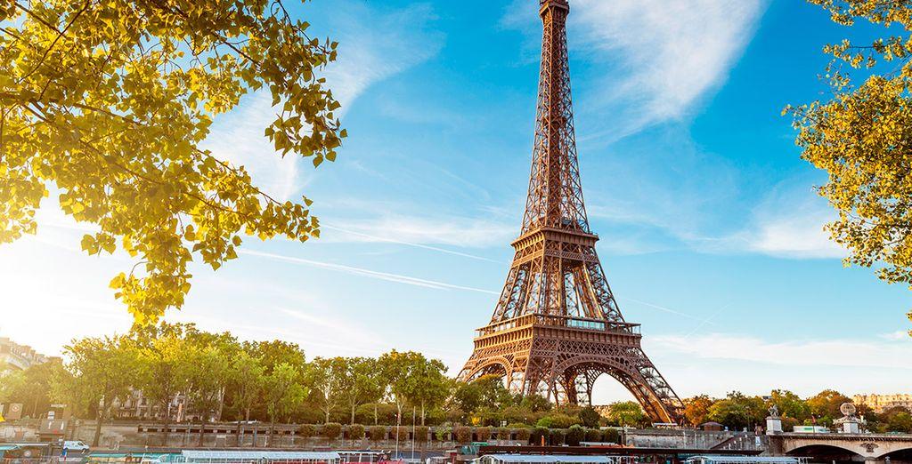 La Torre Eiffel, imponente como siempre