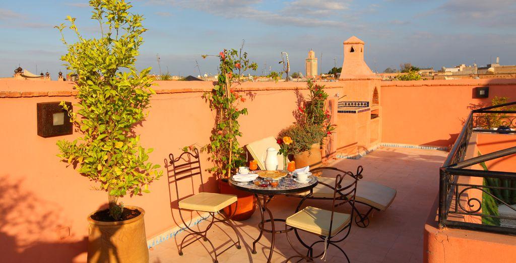Degusta la exótica cocina de Marrakech