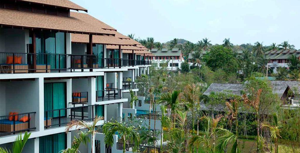 Disfruta de los diferentes espacios de este resort