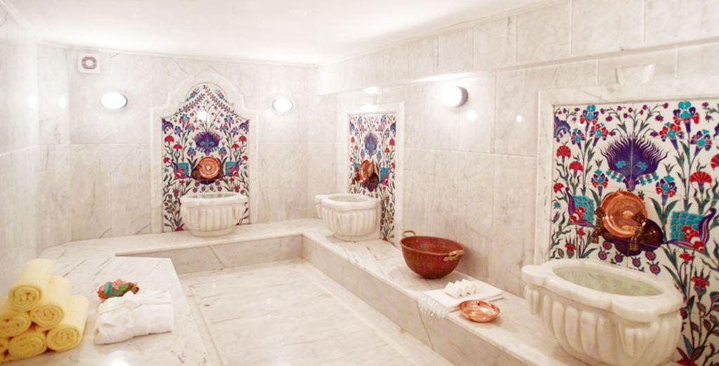 Relájate en el baño turco...