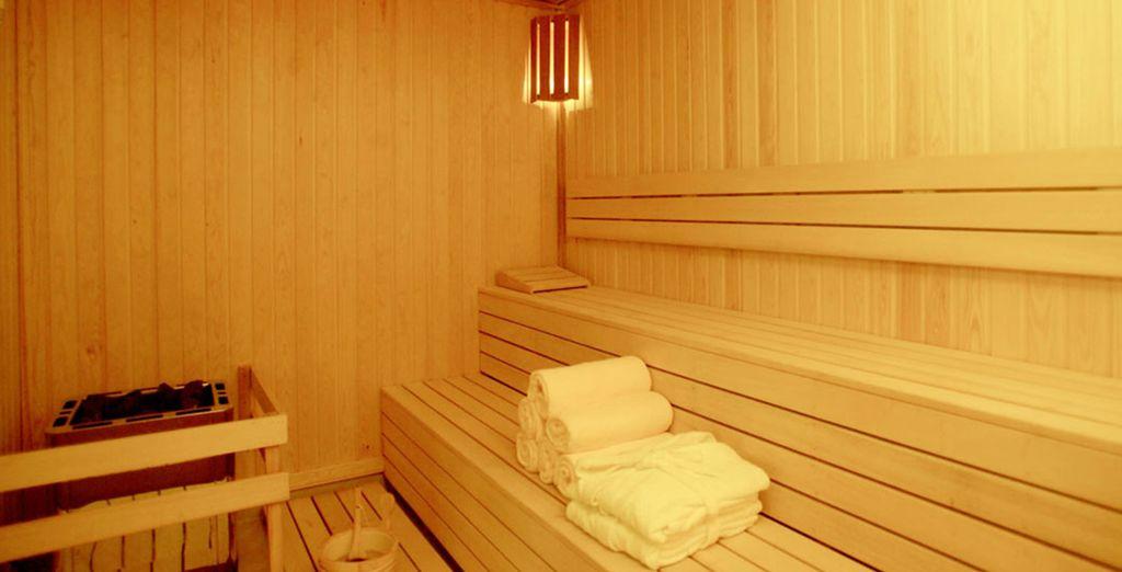 ... o en la sauna