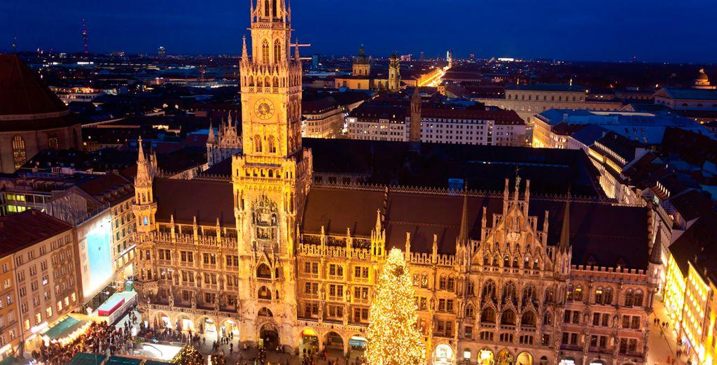 Munich se engalana para recibir la Navidad