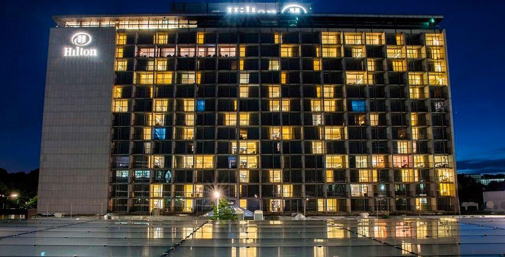 Descansarás en el increíble Hilton Munich Park 5*