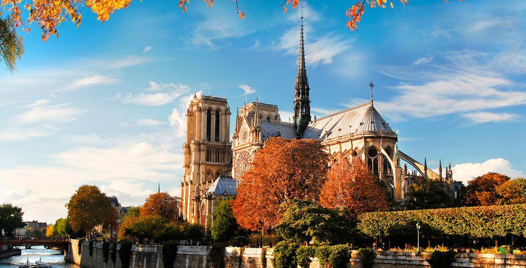La catedral de Notre Dame es uno de sus emblemas