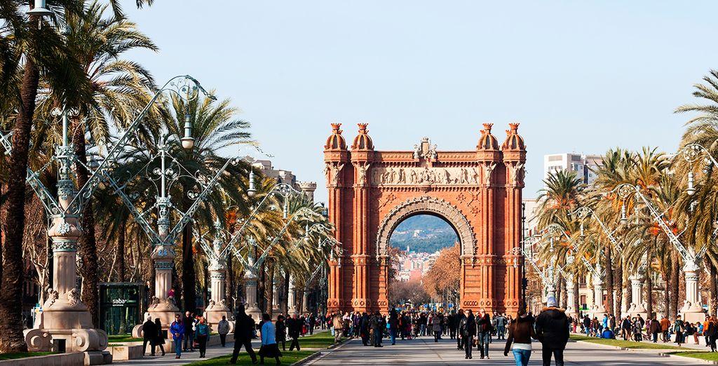 El Arco de Triunfo, un imponente monumento de la ciudad