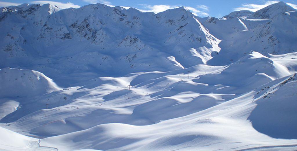 Respira el aire puro de la montaña