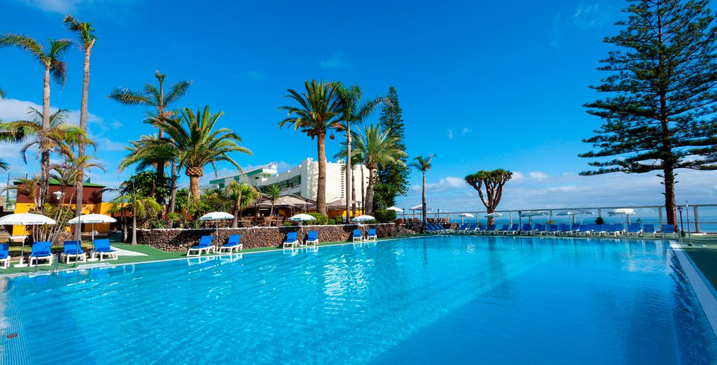 Best Semiramis 5* te da la bienvenida a Tenerife