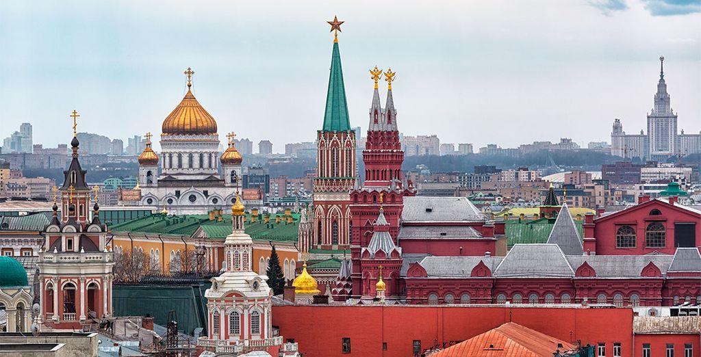 Escápese a conocer Moscú
