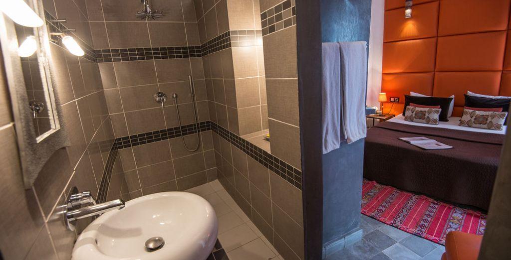 Las estancias cuentan con baño privado