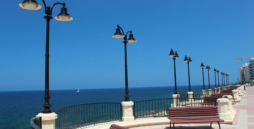 Las playas y el paseo marítimo quedan a un breve paseo