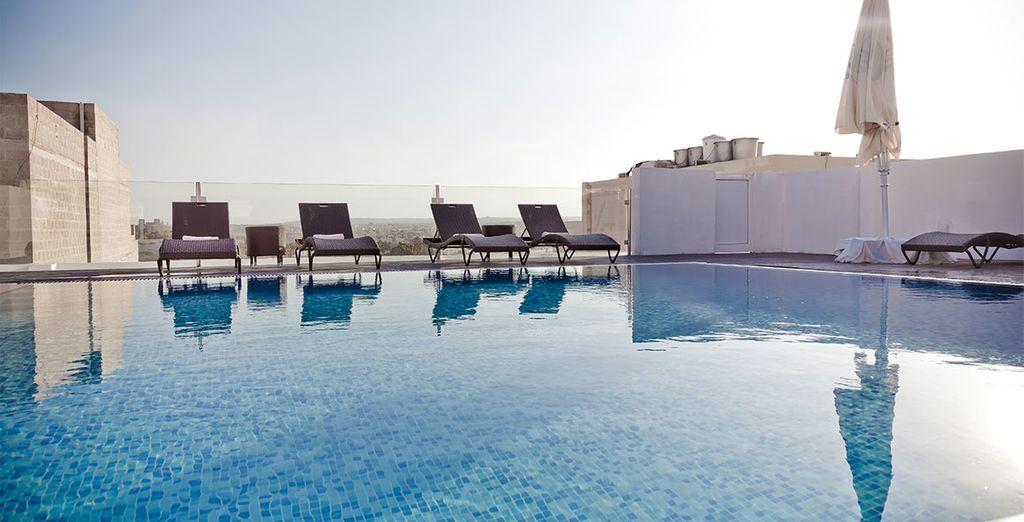 Un hotel 4 estrellas en el centro de Sliema