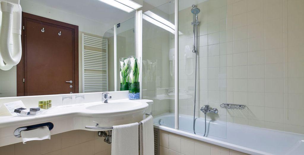 Con baño privado equipado con todo lo que necesitas